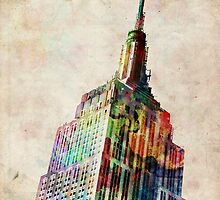Empire State Building by ArtPrints