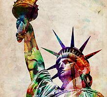 Statue of Liberty by ArtPrints