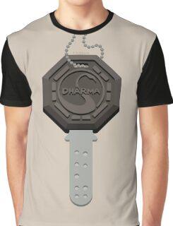 Lost - Dharma Key Graphic T-Shirt