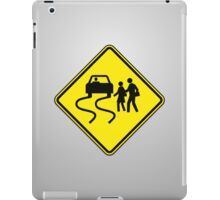 Swerve Ahead - Plain - Gray iPad Case iPad Case/Skin