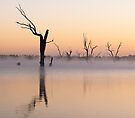 Lake Lonsdale Misty Morning by annibels