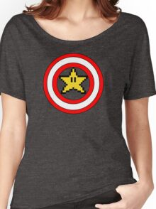 Captain Mario Women's Relaxed Fit T-Shirt