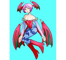 Lilith Darkstalkers Photographic Print