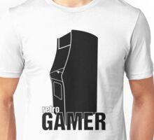 Retrogamer - Arcade Cabinet Silhouette Unisex T-Shirt