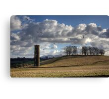 Cammo Tower Canvas Print