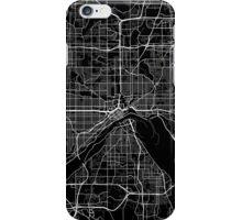 Saint Paul map Minnesota iPhone Case/Skin