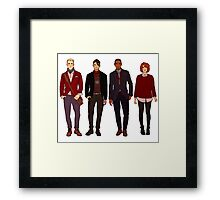 winter fashions caws crew Framed Print