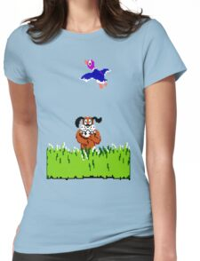 Duck Hunt Womens Fitted T-Shirt
