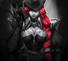 Captain Miss Fortune - League of Legends by Waccala