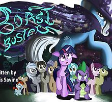 Boast Busters : MLP FIM Title card series  by Jowy
