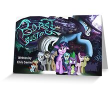 Boast Busters : MLP FIM Title card series  Greeting Card