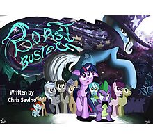 Boast Busters : MLP FIM Title card series  Photographic Print