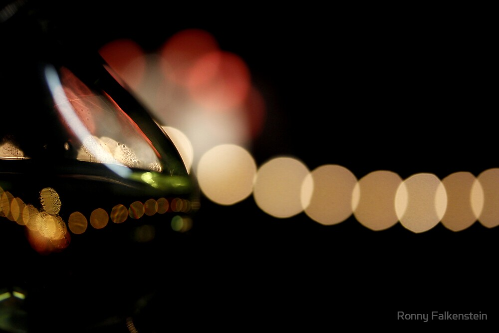The festival - wine and lights by Ronny Falkenstein