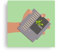 Vsauce outro NES cartridge Canvas Print
