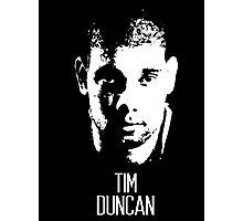 Tim Duncan Photographic Print