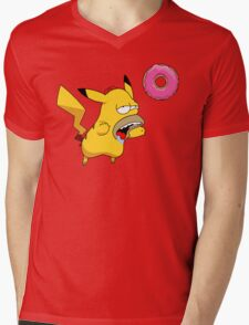 Homer-chu Mens V-Neck T-Shirt