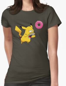 Homer-chu Womens Fitted T-Shirt