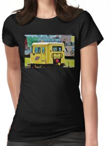 The Speeder and the Mural, WI Womens Fitted T-Shirt