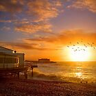 Worthing Beach Sunrise 5 - Boxing Day 2012 - HDR by Colin J Williams Photography
