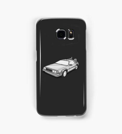 Back to the Future Delorean  Samsung Galaxy Case/Skin