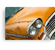 Old Yellow taxi Canvas Print