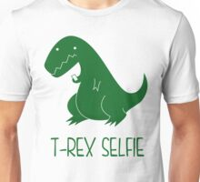 T-rex selfie Unisex T-Shirt