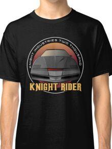 Knight Rider Logo KITT Car Classic T-Shirt