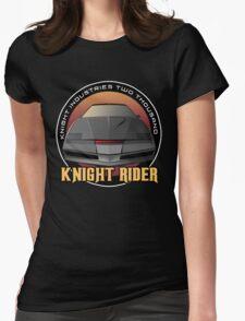 Knight Rider Logo KITT Car Womens Fitted T-Shirt