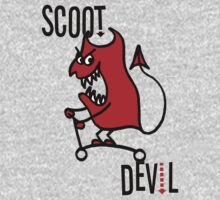 Scoot Devil (Large) by tothebone