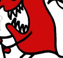 Scoot Devil (Large) Sticker