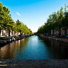 Amsterdam canal by pahas