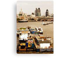 Thames, London Canvas Print