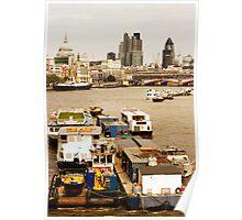 Thames, London Poster