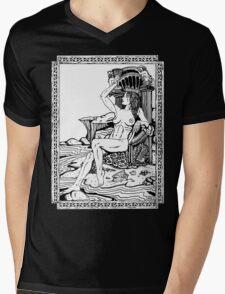 Tarot: Queen of Cups Mens V-Neck T-Shirt
