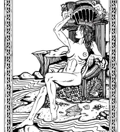 Tarot: Queen of Cups Sticker