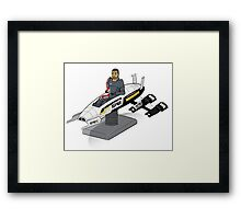 Shepherd's Day Off Framed Print