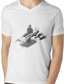 Shepherd's Day Off Mens V-Neck T-Shirt