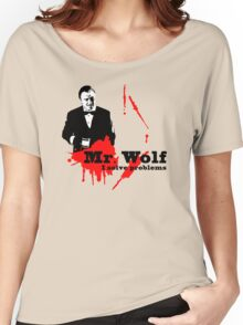 Mr. Wolf Women's Relaxed Fit T-Shirt