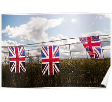 British Flags Poster