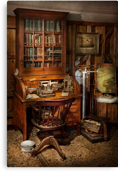 Doctor - My tiny little office by Mike  Savad