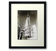 9/11 Freedom Tower Framed Print
