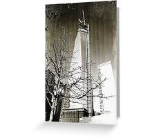 9/11 Freedom Tower Greeting Card