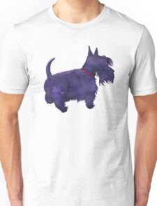 Scottish Terrier Watercolour  Unisex T-Shirt