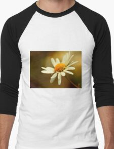 Flora - Hazy Daisy Men's Baseball ¾ T-Shirt