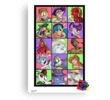 Derp is a wonderful thing Canvas Print