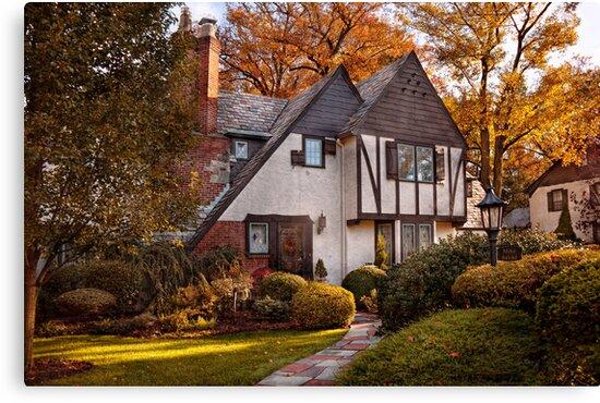 Autumn - Westfield, NJ - Visting grandpa's  by Mike  Savad