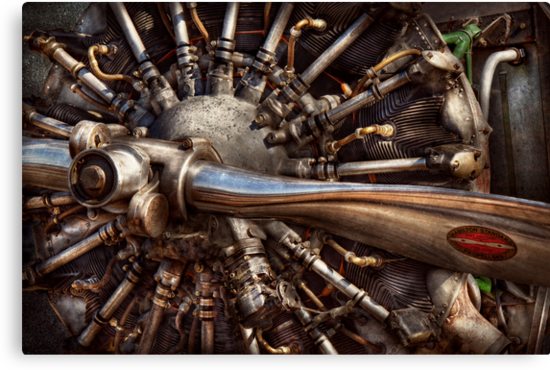 Pilot - Plane - Engines at the ready  by Mike  Savad