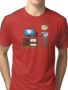 Nerd 4 Life Tri-blend T-Shirt