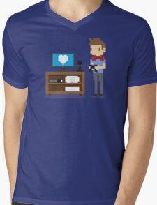 Nerd 4 Life Mens V-Neck T-Shirt