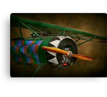 Pilot - Plane - German WW1 Fighter - Fokker D VIII Canvas Print
